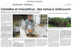article du 18/10/18 ds le Ouest France